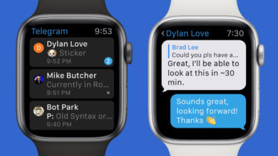 Telegram se ha actualizado con soporte para el Apple Watch