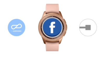 Facebook para Samsung Galaxy Watch