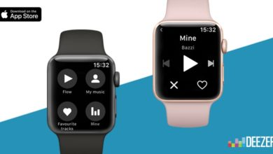 Deezer para el Apple Watch