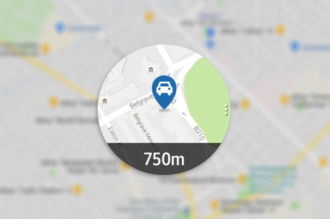 Find My Car para el Galaxy Watch