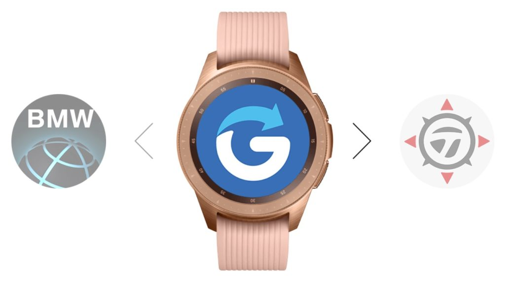 Glympse para el Galaxy Watch