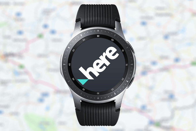 Here WeGo Maps para el Galaxy Watch