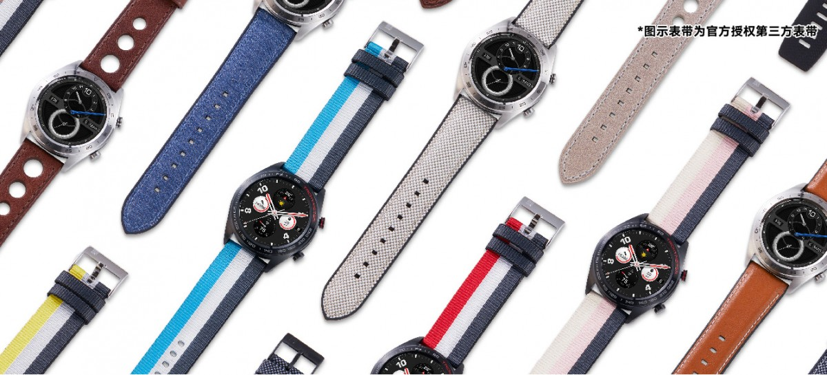 Correas disponibles para el Honor Watch Magic
