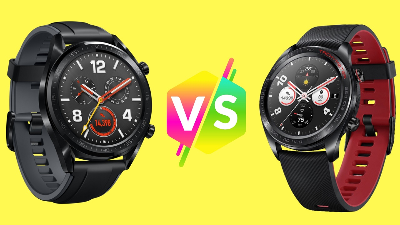 Huawei Watch GT vs Honor Watch Magic: Comparativa de especificaciones