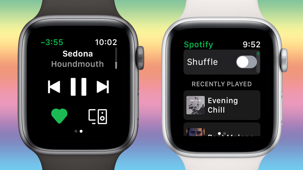 Aplicación de Spotify para el Apple Watch