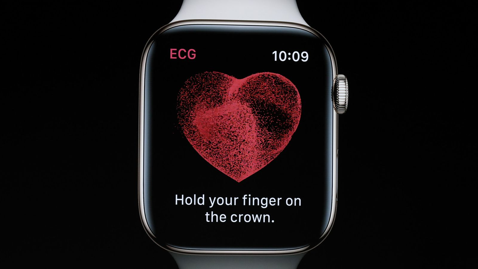 Aplicación de electrocardiogramas del Apple Watch Series 4