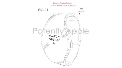 Patente de Apple que presenta un Apple Watch redondo y con pantalla flexible