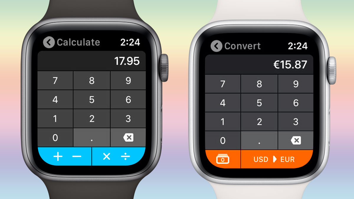 Calcbot para el Apple Watch