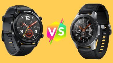 Comparativa entre el Huawei Watch GT y el Samsung Galaxy Watch
