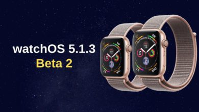 Apple lanza la segunda beta de watchOS 5.1.3
