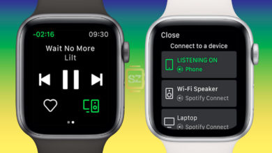 Spotify en el Apple Watch Series 4