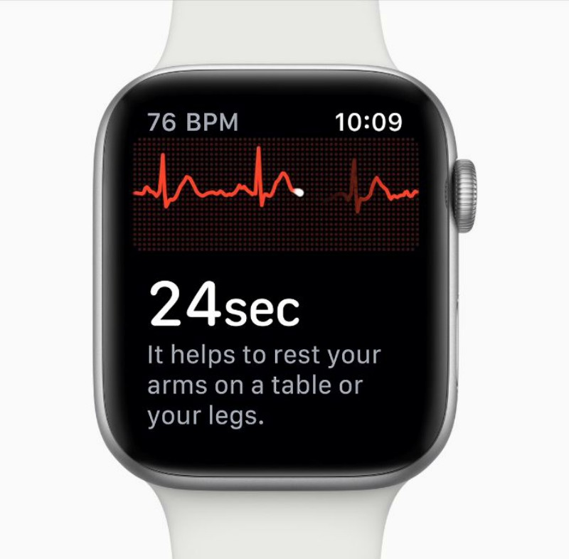 El ECG del Apple Watch Series 4 es la pieza fundamental de este estudio