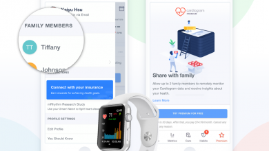 Nuevo modo familiar en Cardiogram para el Apple Watch