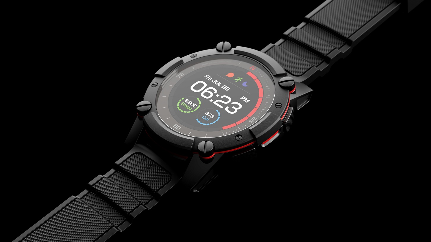 Smartwatch solar Matrix PowerWatch 2 | Fuente: Matrix Industries