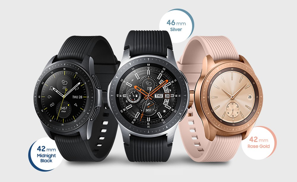 Colores y ediciones del Galaxy Watch