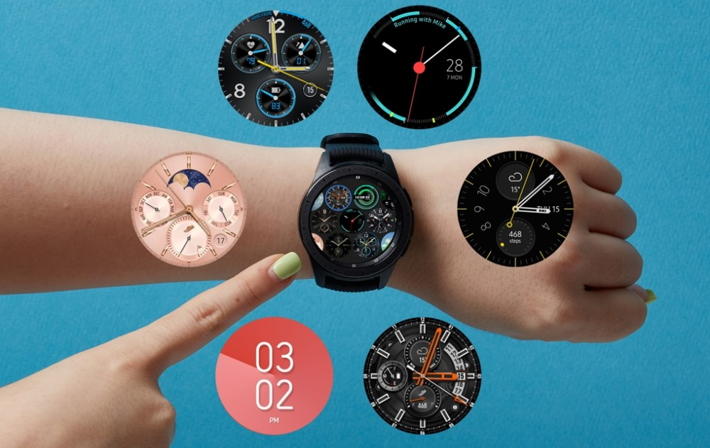 Esferas de reloj del Galaxy Watch