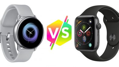 Análisis comparativo detallado entre el Galaxy Watch Active y el Apple Watch Series 4