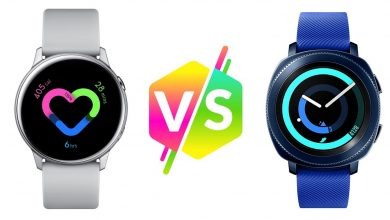 Comparativa entre el Samsung Galaxy Watch Active y el Samsung Gear Sport