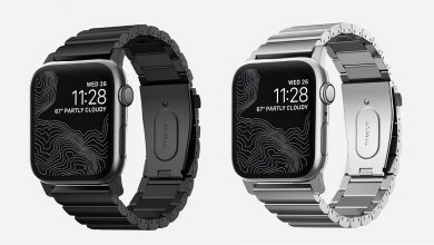 Nomad Titanium Band, correas de titanio para el Apple Watch