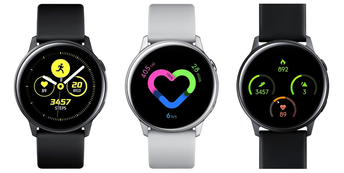 Monitorización de fitness y salud en el Samsung Galaxy Watch Active