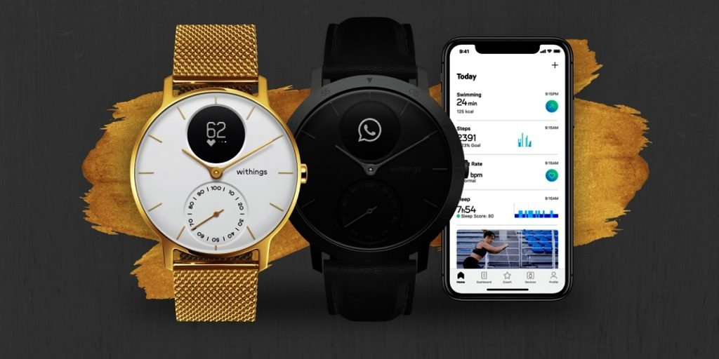 Relojes híbridos Withings Steel HR Limited Edition 2019