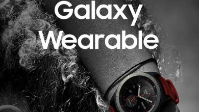 Aplicación Galaxy Wearable de Samsung