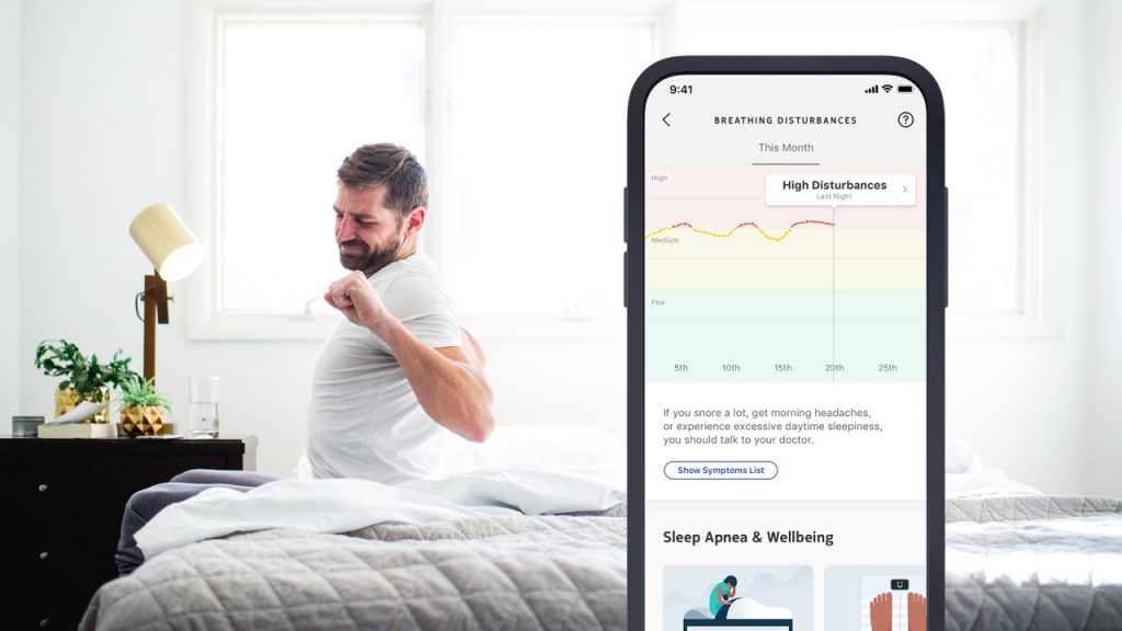Health Mate y los problemas respiratorios | Fuente: Withings