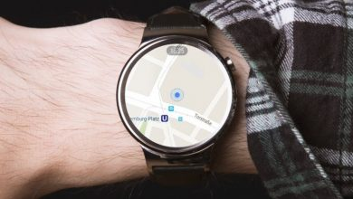 Google Maps en smartwatch con WearOS