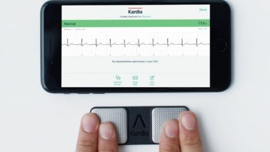 KardiaMobile, un wearable que le da al iPhone un ECG mejor que el del Apple Watch