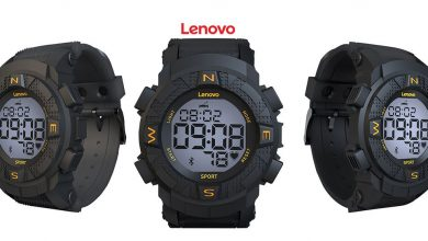 Lenovo EGO smartwatch digital