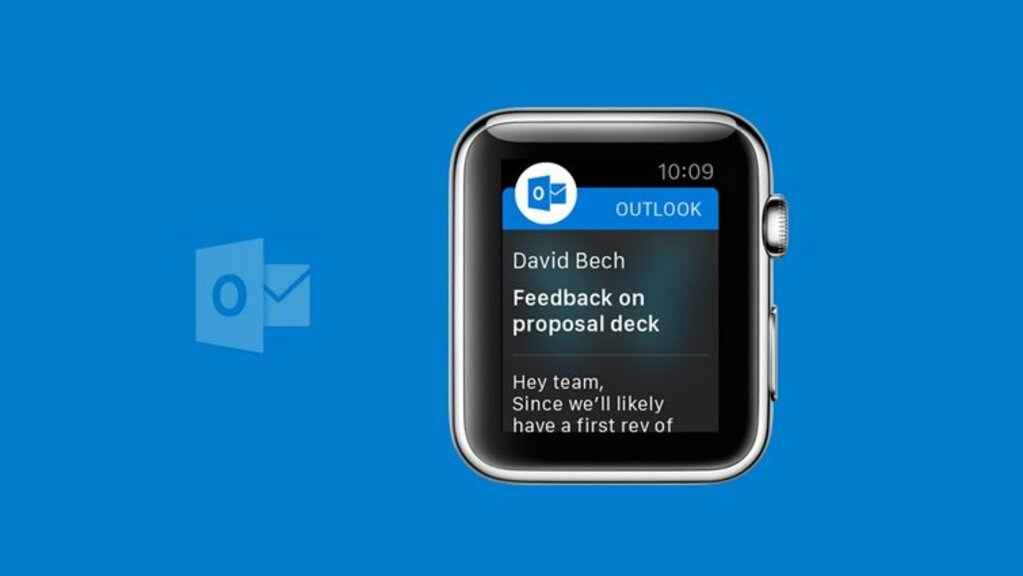 Outlook en Apple Watch