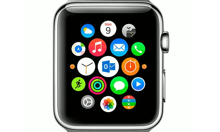 Outlook y múltiples apps en el Apple Watch