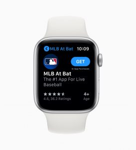 App Store en watchOS 6 para el Apple Watch
