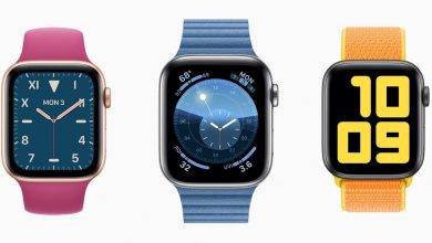 Apple Watch con distintas esferas de reloj