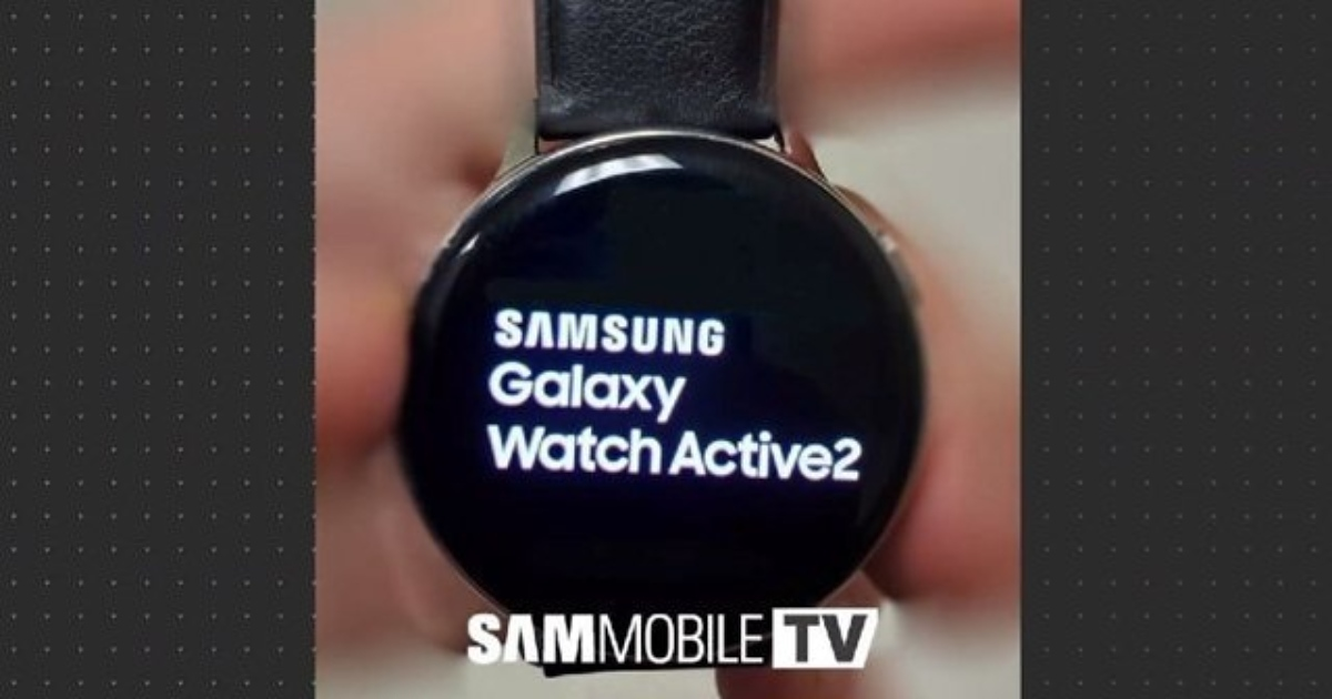 Samsung Galaxy Watch Active 2 filtrado