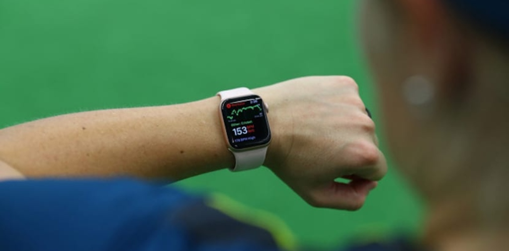 Apple Watch y el equipo femenino australiano de cricket