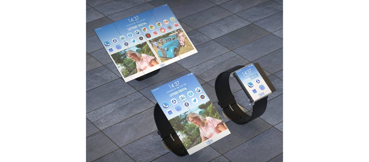 Smartwatch convertible de IBM