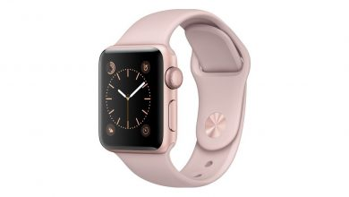Apple Watch en color rosa