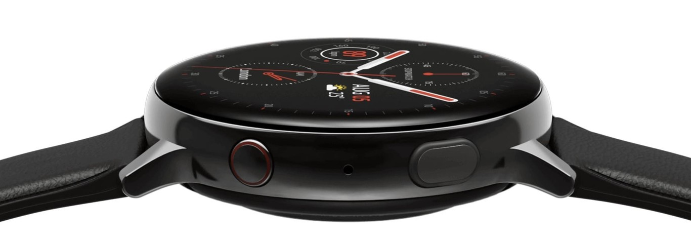 Samsung Galaxy Watch Active 2 con bisel táctil giratorio
