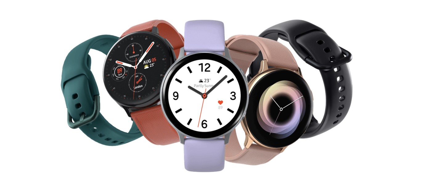 Samsung Galaxy Watch Active 2 en diferentes versiones y modelos