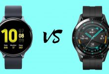 Samsung Galaxy Watch Active 2 vs Huawei Watch GT 2