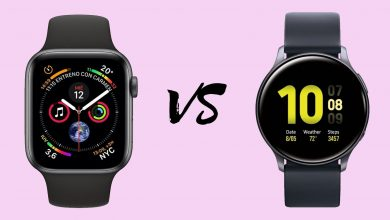 Apple Watch Series 5 vs Samsung Galaxy Watch Active 2