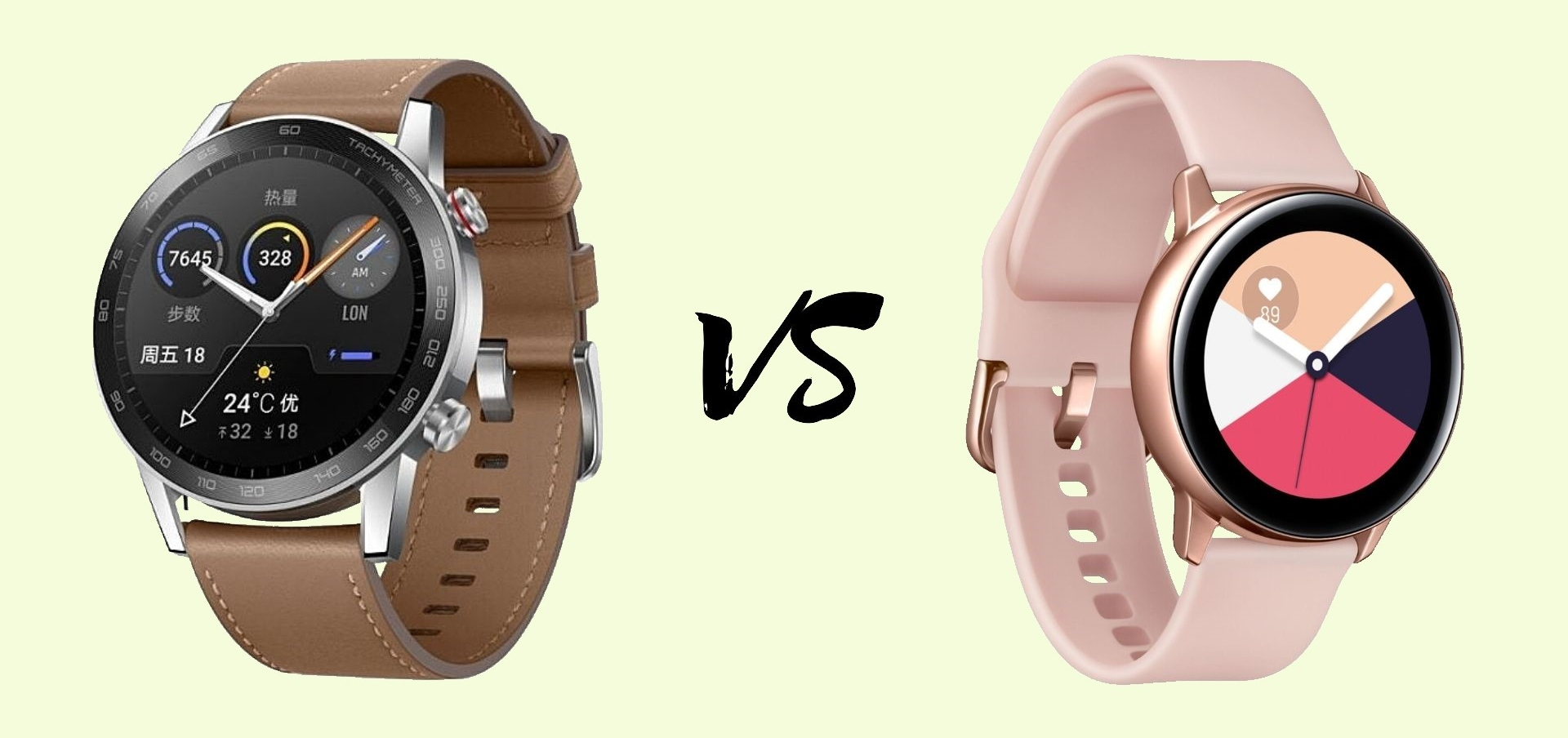 Honor Magic Watch 2 vs Samsung Galaxy Watch Active 2