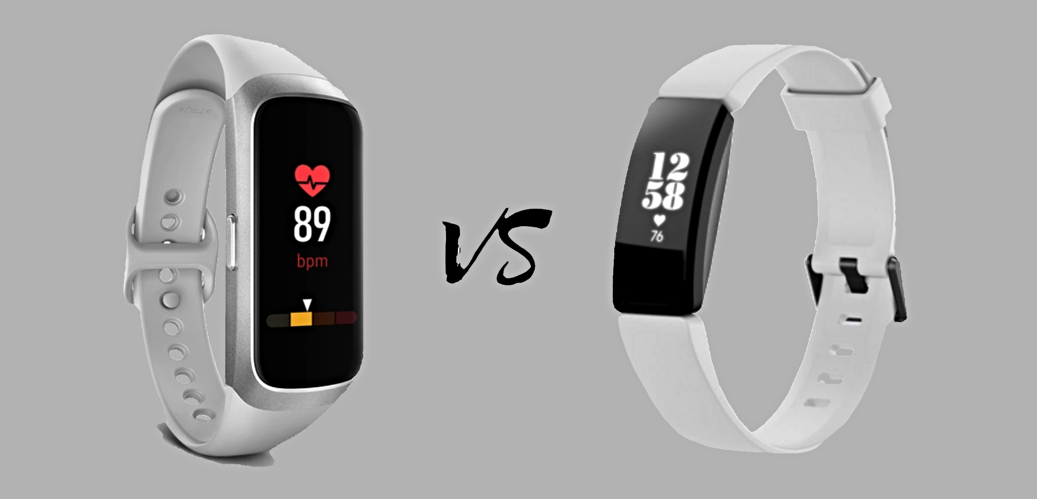 Samsung Galaxy Fit vs Fitbit Inspire HR