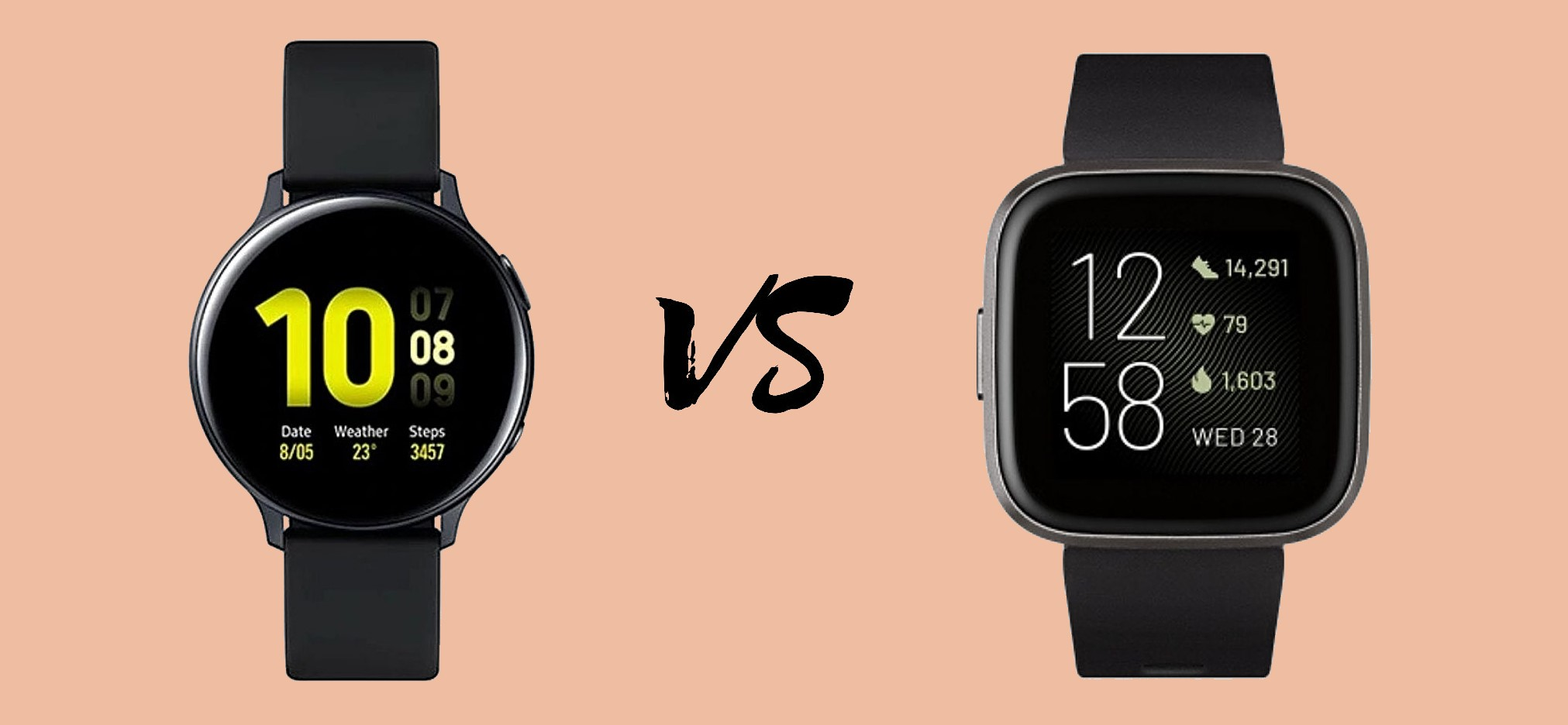 Samsung Galaxy Watch Active 2 vs Fitbit Versa 2