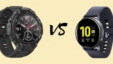 Amazfit T-Rex vs Samsung Galaxy Watch Active 2