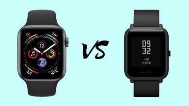 Apple Watch Series 5 vs Amazfit Bip 2