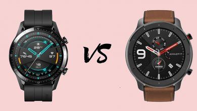 Huawei Watch GT 2 vs Amazfit GTR
