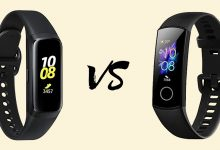 Samsung Galaxy Fit vs Honor Band 5