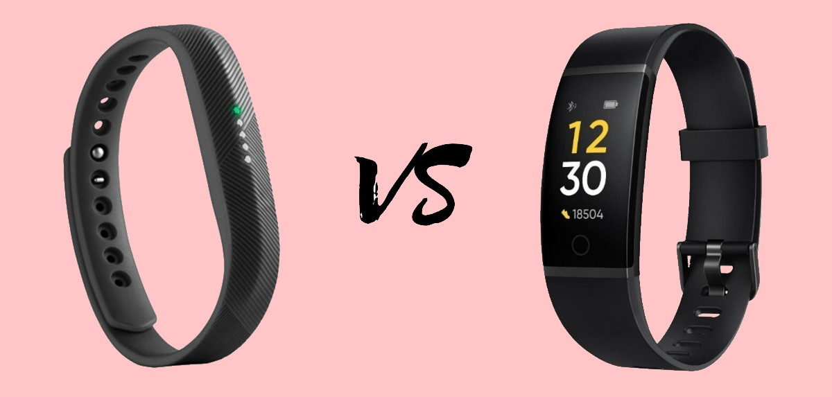 FItbit Flex 2 vs Realme Band